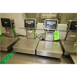 """Avery Weigh-Tronix Digital Scales, Model ZQ375, S/N 144550662 and S/N 144550732 with 13-1/2"""" x 12"""""""