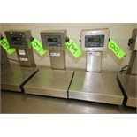 """Weigh-Tronix Digital Scales, Model QC-3265, S/N 004325 and S/N 026938 with 13-1/2"""" x 12"""" Platform,"""