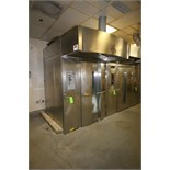 2010 Baxter S/S Rotating Double Rack Oven, Model OV500G2EE, S/N 24-2010966, input Rating 275,000