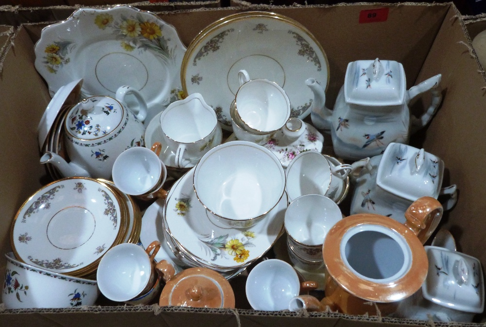Three boxes of miscellaneous teaware - Image 2 of 3
