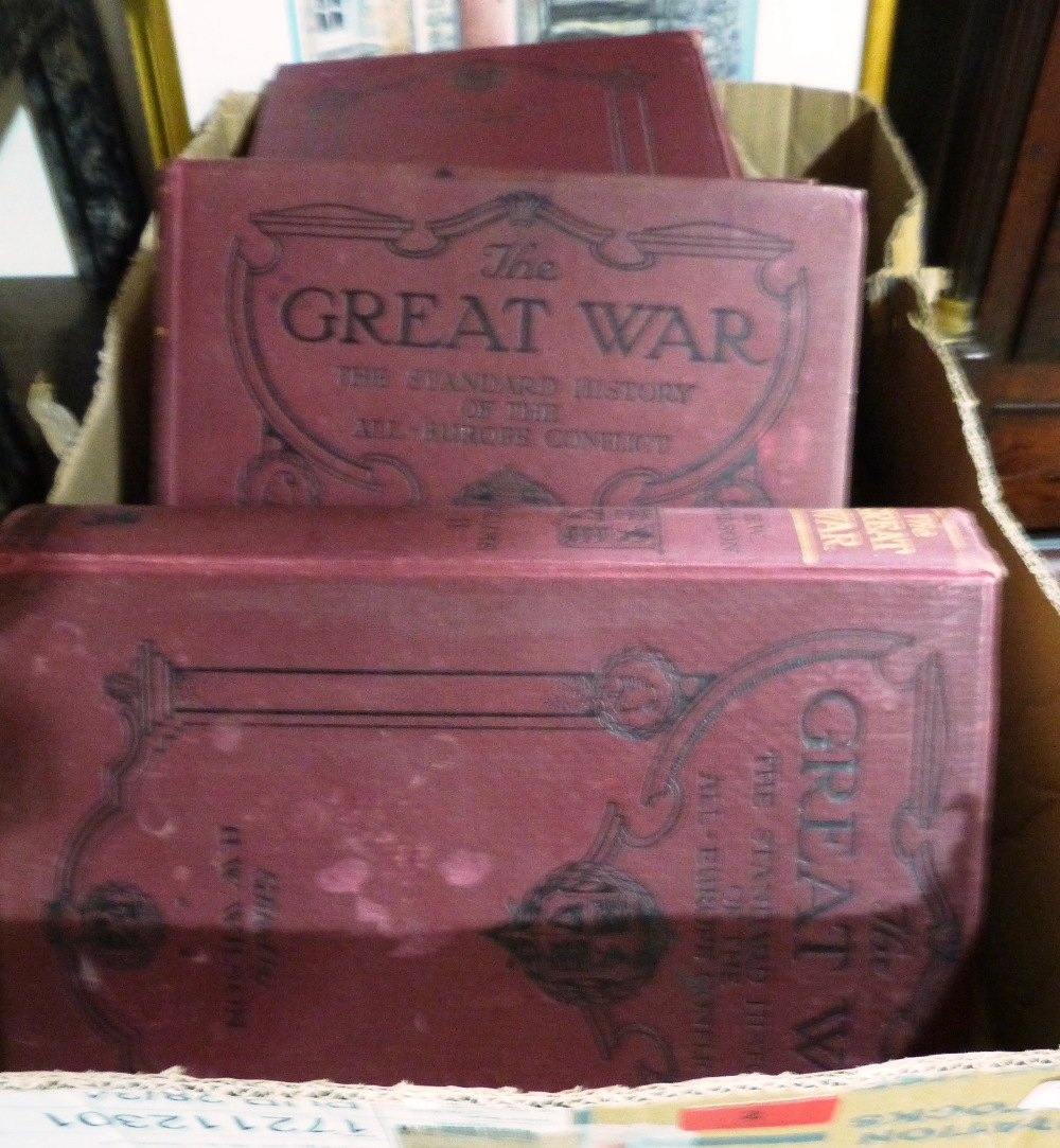 Lot 2 - The Great War. 7 volumes
