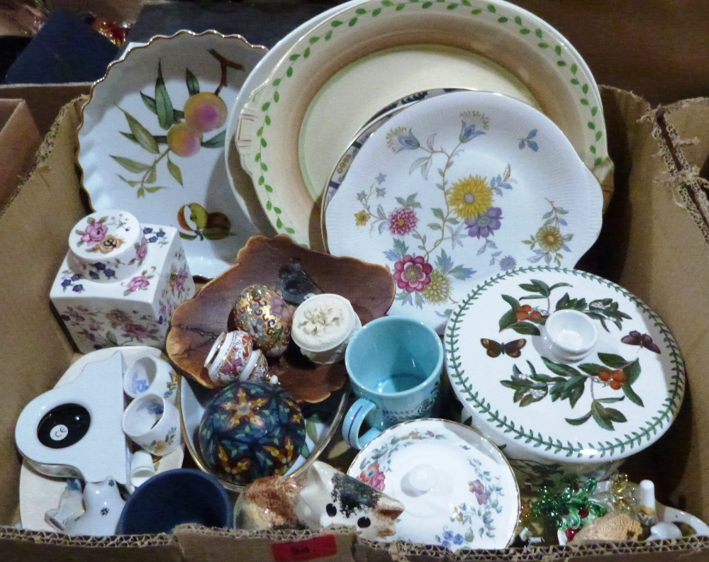 Two boxes of miscellaneous ceramics - Image 2 of 2