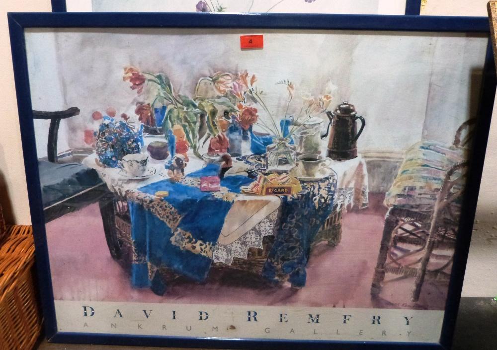 Lot 4 - Two framed prints after David Remfrey