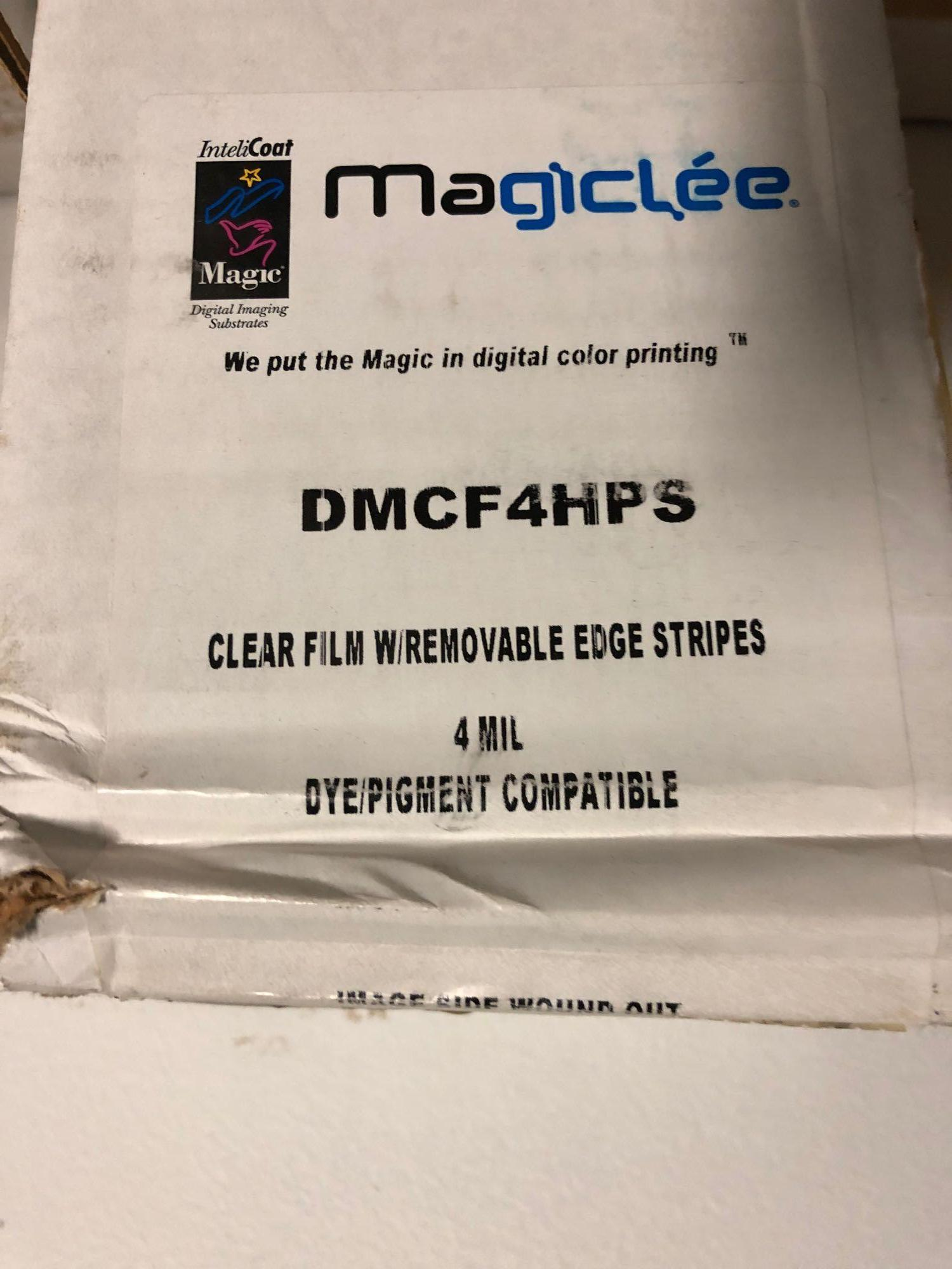 (5) Partial Assorted Rolls of Bond Clear Backlit - Image 4 of 7