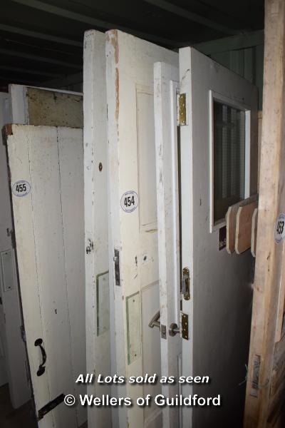 Lot 454 - *FIVE MIXED INTERNAL DOORS