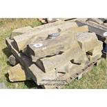 *PALLET OF APPROX TEN MIXED STONE SILLS, VARIOUS SIZES