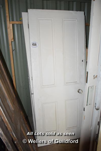 Lot 456 - *FIVE MIXED INTERNAL DOORS