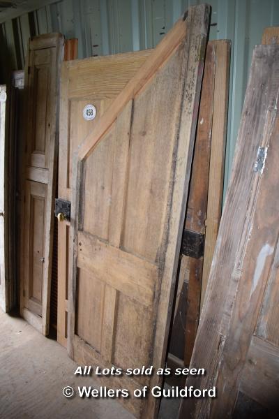 Lot 458 - *FIVE MIXED INTERNAL DOORS INCLUDING AN UNDER STAIRS CUPBOARD DOOR