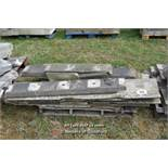 *PALLET OF APPROX TEN BALLUSTRADE STONE SECTIONS, VARIOUS SIZES