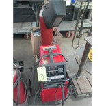 WELDING MACHINE, LINCOLN MDL. SP130T, 130 amp @ 20 v., 30% duty cycle, integrated wire feeder,