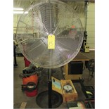 PEDESTAL SHOP FAN, FLOW PRO 30""