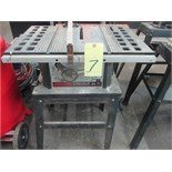 TILTING ARBOR TABLE SAW, SKILSAW 10""