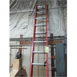 LOT CONSISTING OF: Louisville extension ladder & step ladders