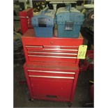 TOOLBOX, red (no tools)