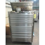 "Lot 1 - HAND TOOL CHEST, STEELGLIDE 41"", stainless steel, w/drills & taps, end wrenches, combination"