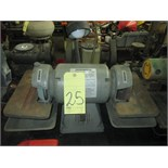 "TOOL GRINDER, CENTRAL MACHINERY 6"", 1/2 HP"
