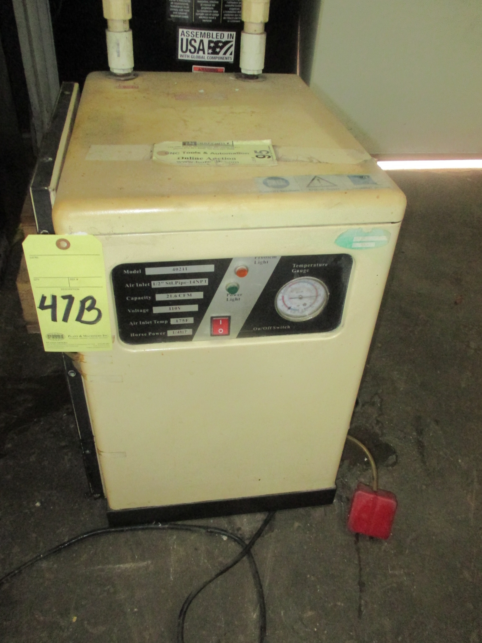 Lot 47B - AIR DRYER
