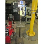 "PEDESTAL DRILL PRESS, CLAUSING 15"", variable spd."
