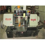"HORIZONTAL BANDSAW, DAKE MDL. LE13A, 13"" round cap., 10"" x 14"" rect. cap., 1.25"" blade size, blade"