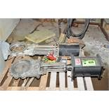 LOT/ (2) TWS POWER ACTUATED STAINLESS STEEL VALVES, S/N N/A [RIGGING FEES FOR LOT #829 - $60 USD