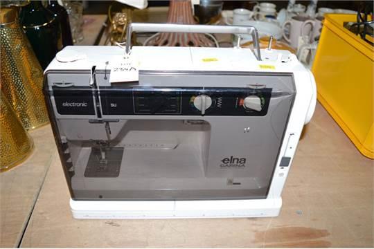 An Elna Carina Electronic Sewing Machine Mesmerizing Elna Carina Sewing Machine