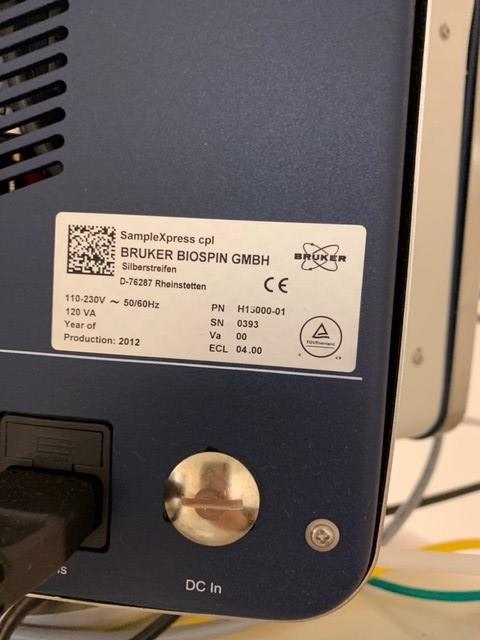 Lot 809 - Bruker Avance 500 III HD 500 mghtz Nuclear Magnetic Resonance spectroscopy system, including