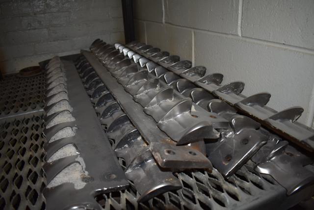 Lot 314 - Scraper Blades/Stainless Steel