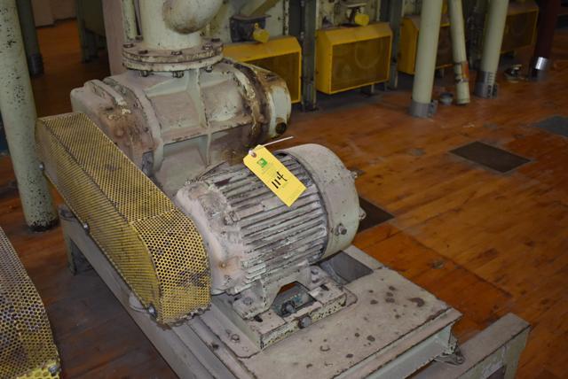 Lot 114 - Blower Package w/7 1/2 HP Motor