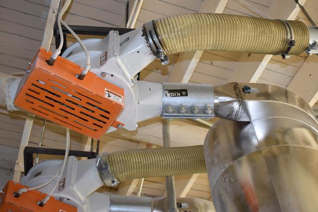 Lot 72 - KICE System Consisting of KICE Cyclone, Blower, KICE Model #VJ-14x10x10 Rotary Valve & Magnet