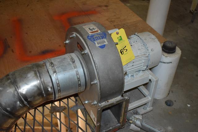 Lot 85 - KICE 2 HP Blower