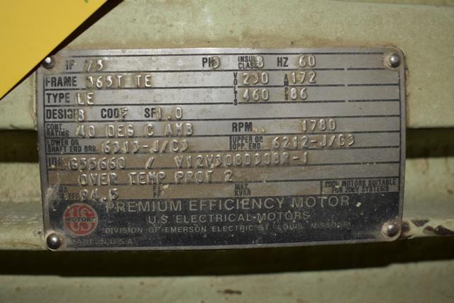 Lot 135 - KICE Blower Package, 75 HP Motor