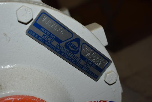 KICE Model #VJ8x6x6 Rotary Valve - Image 2 of 2