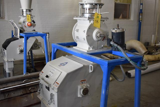 KICE Impact Mill Model #RST12-18-6-2, Includes Cyclone and KICE Model #VJ10x8x8 Rotary Valve - Image 2 of 5