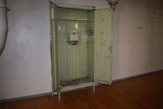 Lot 138 - Hoffman 2-Door Steel Cabinet