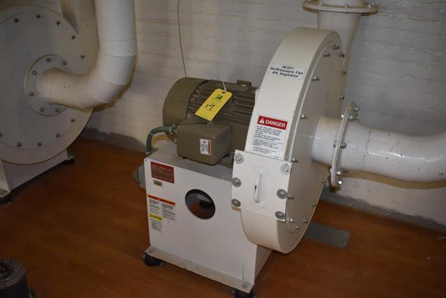 Lot 17 - New York Blower Package Size 2408/Steel 15 HP Motor
