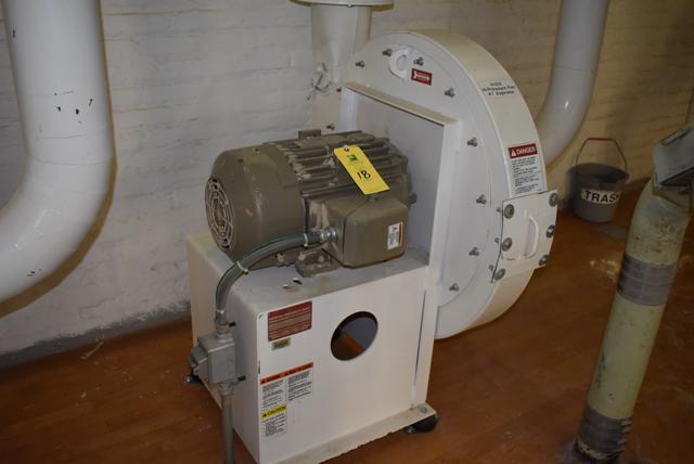 Lot 18 - New York Blower Package Size 2408/Steel 15 HP Motor