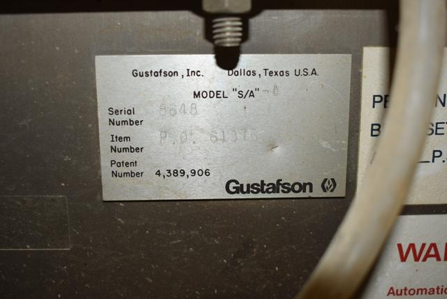 Lot 109 - Gustafson Conditioner Includes Rotary Valve