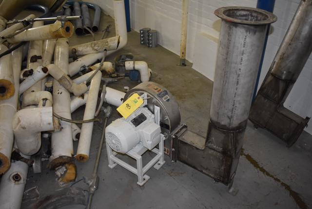 Lot 90 - KICE Model #FC7W10 Blower, 2 HP Motor