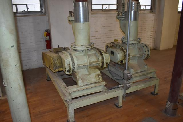Lot 168 - KICE Blower System Consisting of Qty. (2) KICE Blowers & 10 HP Motors