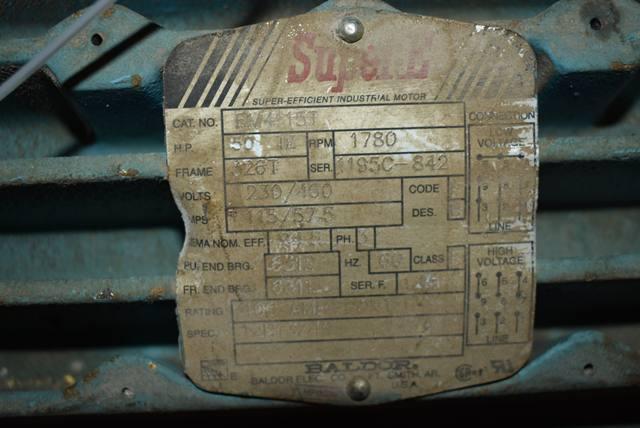 Lot 81 - 50 HP Blower Package