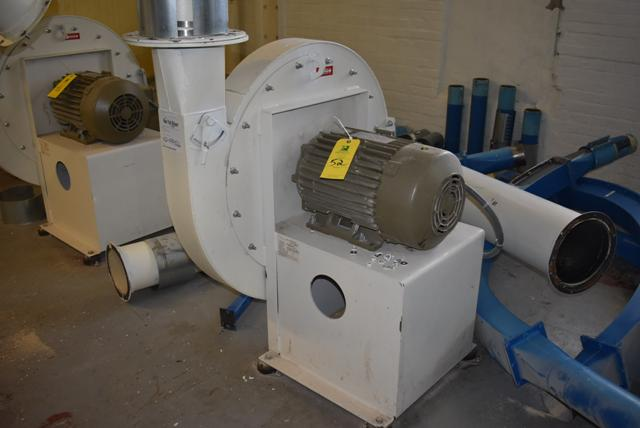 Lot 52 - New York Blower Size 2408/Steel w/15 HP Motor