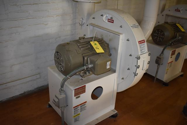 New York Blower Package Size 2408/Steel 15 HP Motor