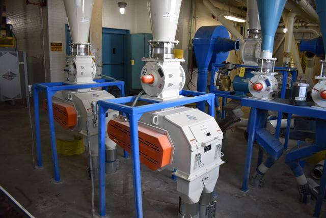 Lot 59 - KICE Impact Mill Model #RST12-18-6-2, Includes Cyclone and KICE Model #VJ10x8x8 Rotary Valve