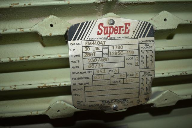 Lot 129 - ILG Industries Blower Package, 30 HP Motor