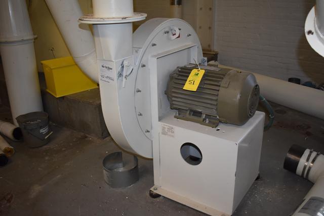 Lot 51 - New York Blower Size 2408/Steel w/15 HP Motor