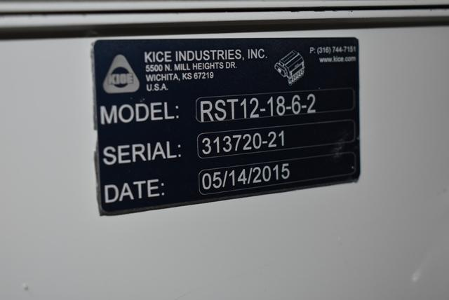 KICE Impact Mill Model #RST12-18-6-2, Includes Cyclone and KICE Model #VJ10x8x8 Rotary Valve - Image 3 of 5