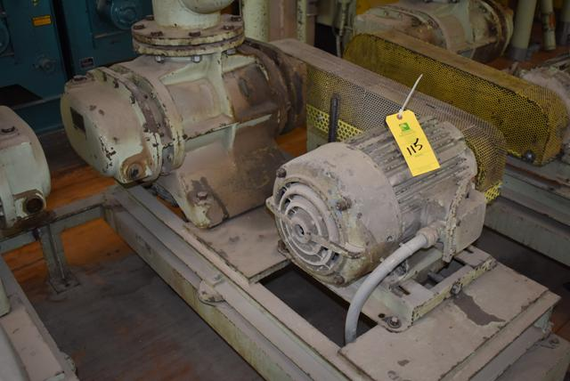 Lot 115 - Blower Package w/7 1/2 HP Motor