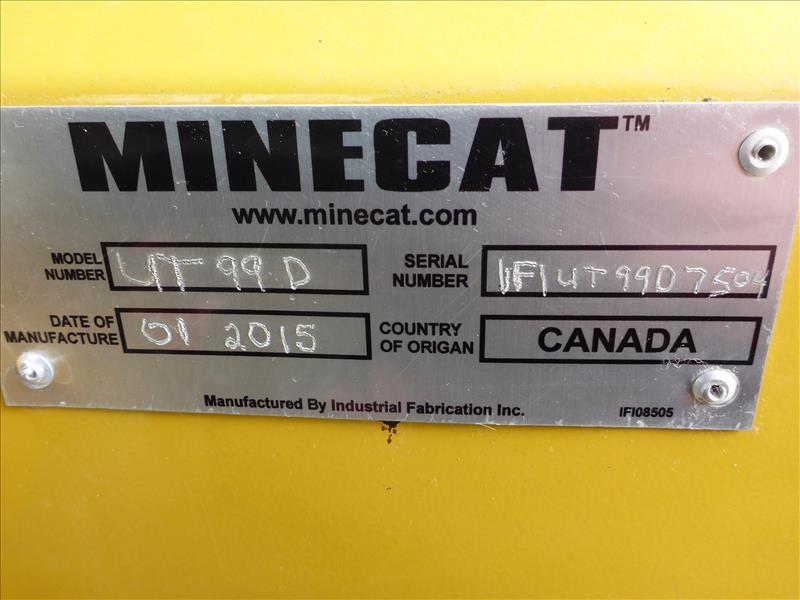 1025   2015  Minecat Ut99d Ug Utility Truck 5