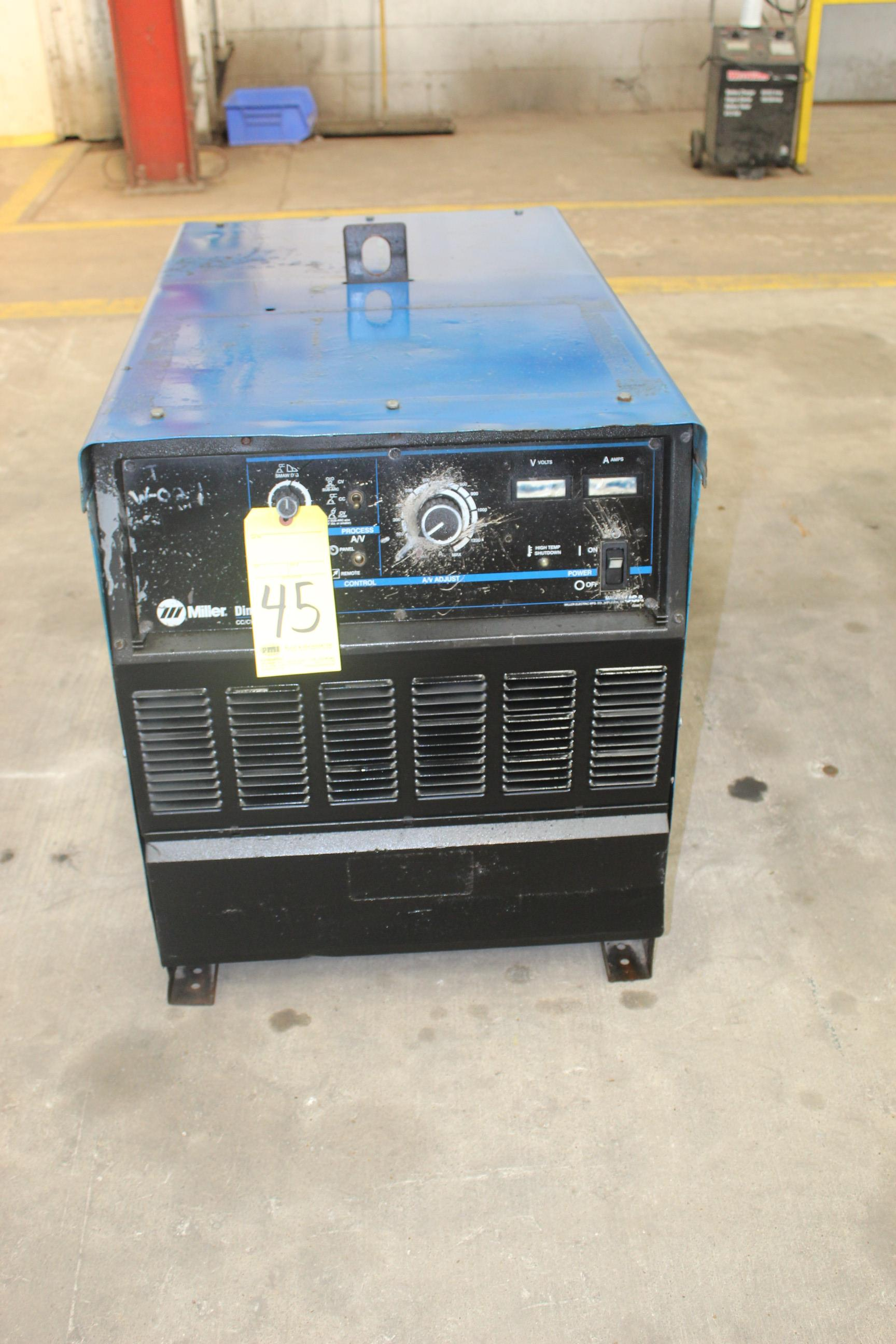 WELDING MACHINE, MILLER MDL. DIMENSION 1000, 1,000 amps @ 44 v., 100% duty cycle, S/N LF161800