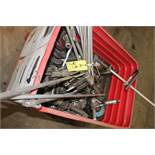 LOT OF PNEUMATIC TOOLS (not in working condition - in metal bin)